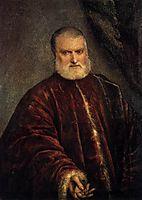 Portrait of Antonio Attorney Cappello, 1551, tintoretto
