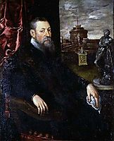 Portrait of a Collector, 1565, tintoretto