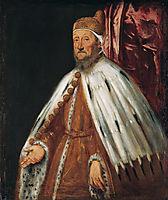 Portrait of Doge Pietro Loredan, 1570, tintoretto