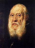 Portrait of Jacopo Sansovino, c.1565, tintoretto