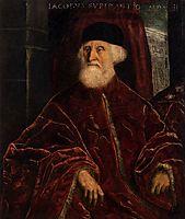 Portrait of Jacopo Soranso, c.1550, tintoretto