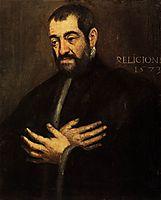 Portrait of a Man, 1573, tintoretto
