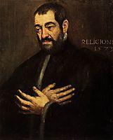 Portrait of a Man, c.1573, tintoretto
