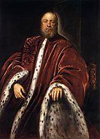 Portrait of a Procurator of St Mark-s, tintoretto