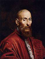 Portrait of a Senator, 1570, tintoretto