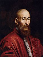 Portrait of a Senator, c.1570, tintoretto