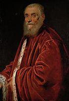 Portrait of Senator Marco Grimani, 1583, tintoretto
