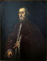 Portrait of a Venetian senator, 1580, tintoretto