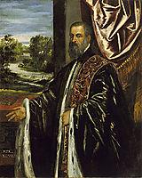 Portrait of a Venetian Senator, c.1560, tintoretto
