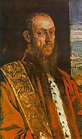 Portrait of Vincenzo Morosini, 1580, tintoretto