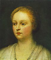 Portrait of a Woman, 15, tintoretto