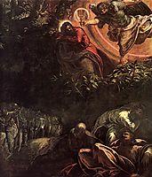 The Prayer in the Garden, 1581, tintoretto