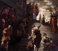 Presentation of the Virgin, 1553-56, tintoretto