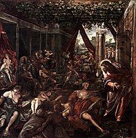 Probatica Piscina, 1581, tintoretto