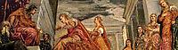 The Queen of Sheba and Solomon, c.1555, tintoretto