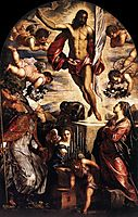 The Resurrection of Christ, 1565, tintoretto
