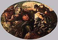 The Sacrifice of Isaac, 1578, tintoretto