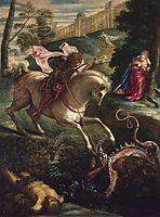 Saint-Georges, 1543-44, tintoretto
