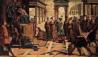 Solomon and the Queen of Sheba, c.1545, tintoretto