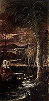 St Mary of Egypt, 1587, tintoretto