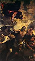 The Temptation of St Anthony, c.1577, tintoretto