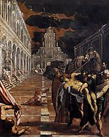 The theft of the corpse of Saint Mark, 1562-66, tintoretto