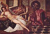 Venus and Mars Surprised by Vulcan, tintoretto