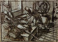 Venus, Mars, and Vulcan, tintoretto