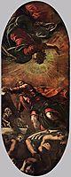The Vision of Ezekiel, 1578, tintoretto