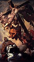 The vision of Saint-Pierre, tintoretto