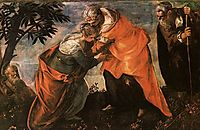 Visitation, 1588, tintoretto
