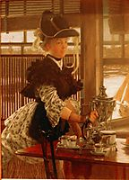 Afternoon Coffee, tissot