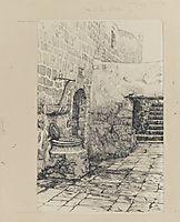 An Old Cistern, 1889, tissot
