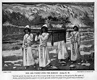 The Ark Passes Over the Jordan, c.1902, tissot