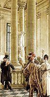 Au Louvre, tissot