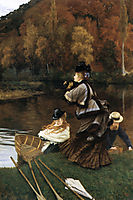 Autumn on the Thames, 1871-1872, tissot