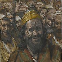 Barrabbas, illustration from -The Life of Our Lord Jesus Christ-, 1894, tissot
