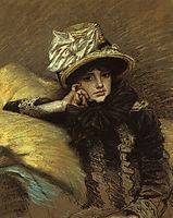 Berthe, 1882, tissot
