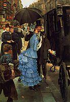 The Bridesmaid, 1883-1885, tissot