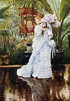 The Bunch of Violets, 1875, tissot