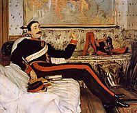 Captain Frederick Gustavus Burnaby, 1870, tissot