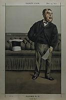 Caricature of George Cavendish Bentinck, 1871, tissot