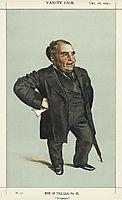 Caricature of John Pender, 1871, tissot