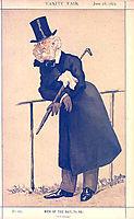 Caricature of Mr Washington Hibbert, 1873, tissot