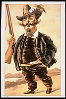 Caricature of Victor Emmanuel II of Italy, 1870, tissot