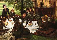 Children-s Party, 1881-1882, tissot