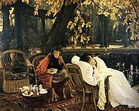 A Convalescent, 1876, tissot