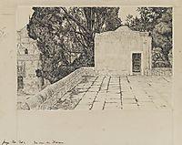 A Corner of the Haram, 1889, tissot