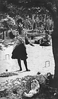 Croquet, 1878, tissot
