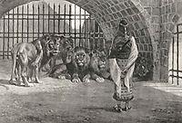 Daniel in the Lion-s, tissot